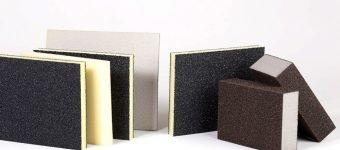 Abrasive sponges for sanding and grinding