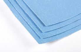 Sandpaper sheets for woodworking, metalworking, automotive, marine and granite & marble