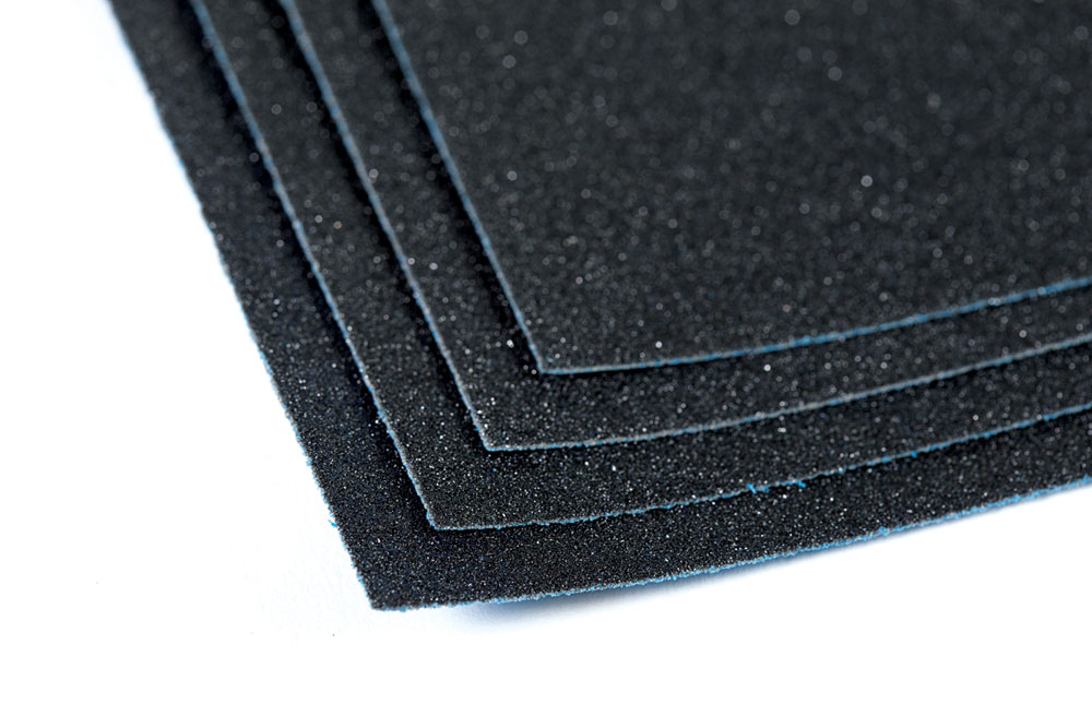 Sandaper for car and sanding sheets for automotive industry