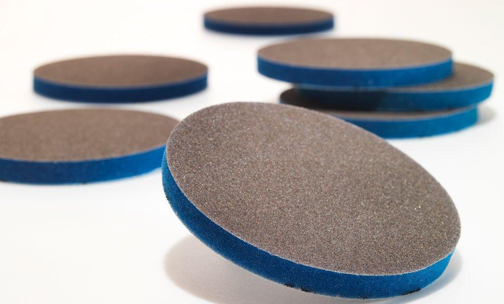 EKASILK PLUS sanding sponge discs