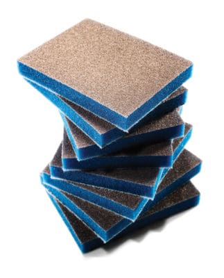EKASILK PLUS sanding sponge pads and sponge discs