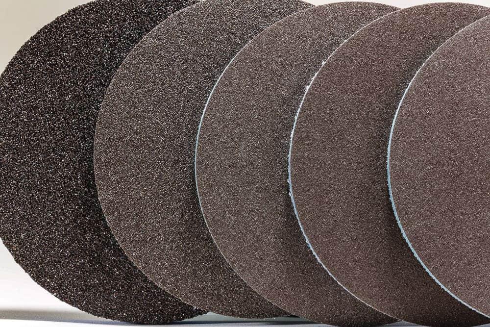 Ekasilk Plus foam abrasives, available grades/grits