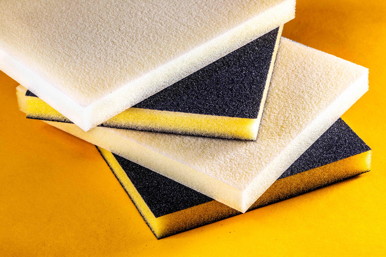 Uneesponge foam abrasives