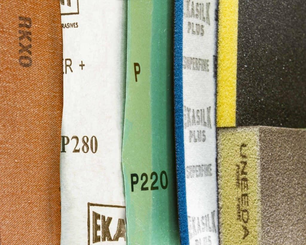 Sandpaper backings