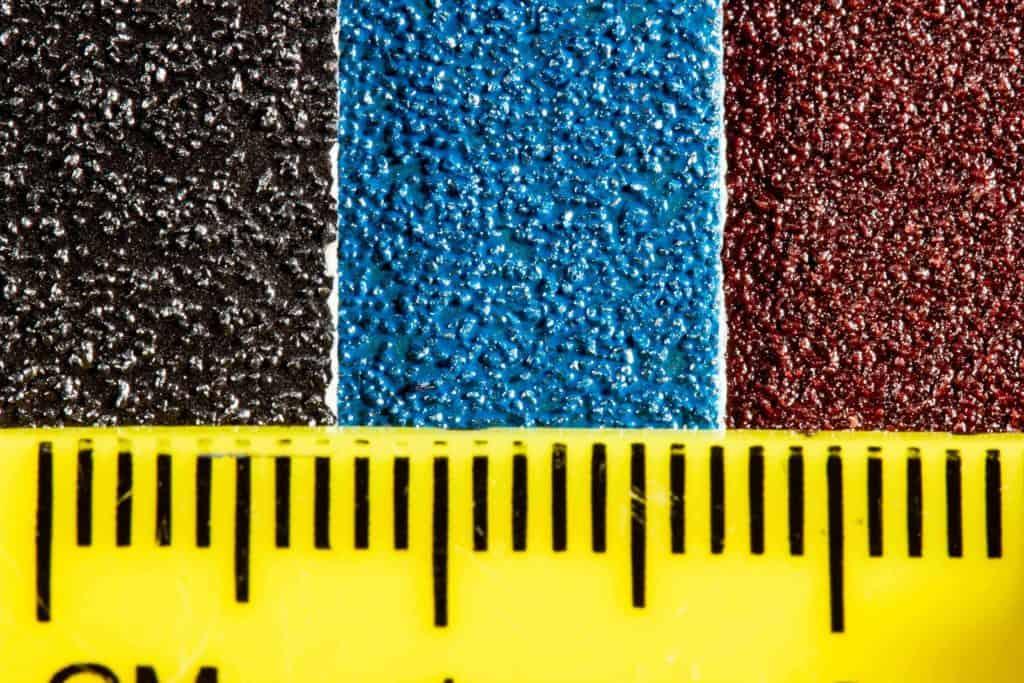 Sandpaper coatings