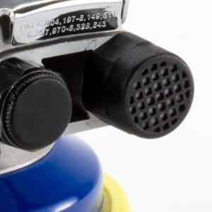 Filter Cap on 5 In Pneumatic Sander
