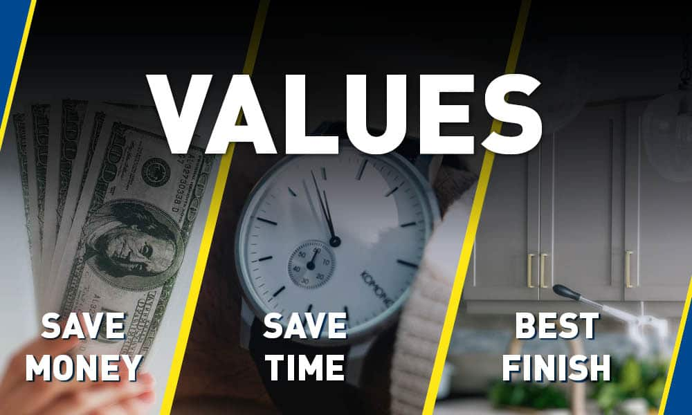 Save time, money and get the best finish.
